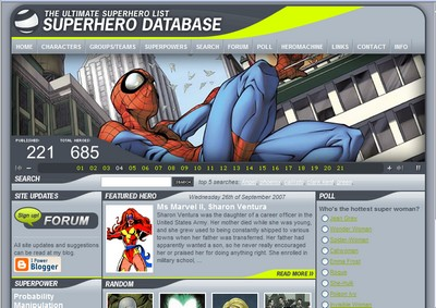 Superhero Database