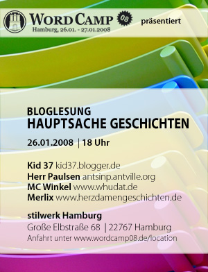 Bloglesung im WordCamp08