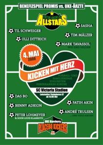Poster Fatih Akin 'Kickt mit Herz' in Hamburg