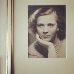 Britta 1946 mit 24 Jahren